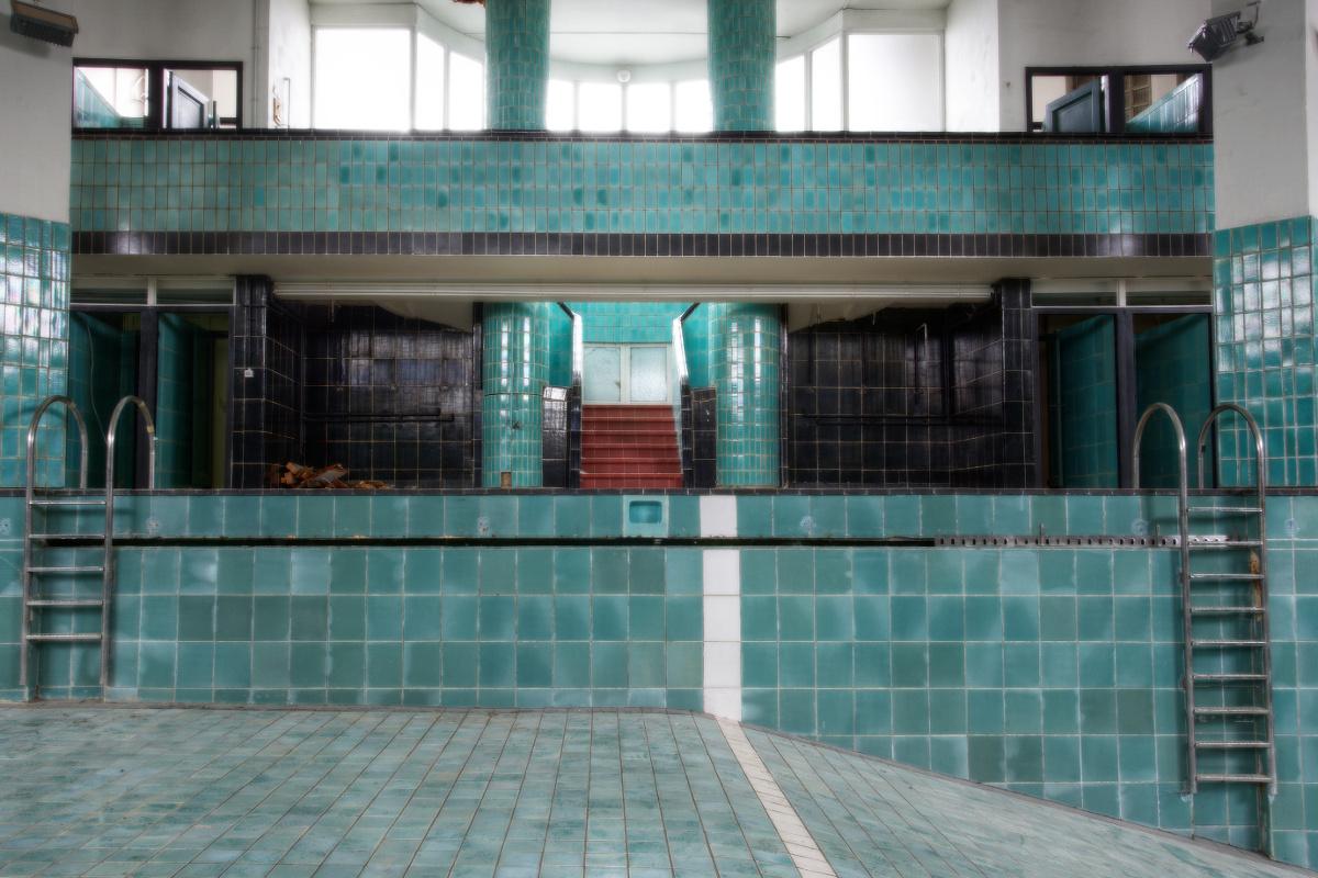 Urbex Piscine Art Deco Miso Photography