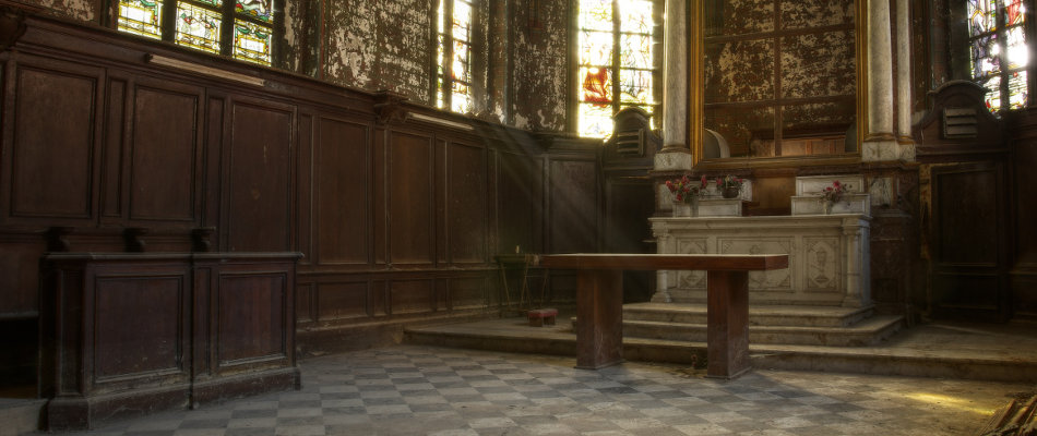 Urbex - religious